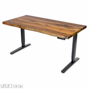Shop UPLIFT Standing Desk with Solid Wood Top