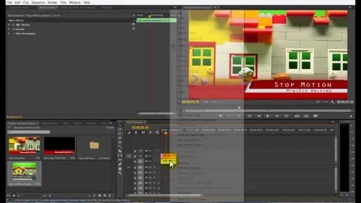 Create a Stop Motion Video Sequence in Premiere Pro CC