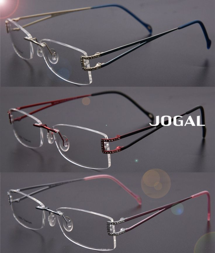 Rimless Eyeglass Frames Problems : 25+ best ideas about Rimless Glasses on Pinterest ...