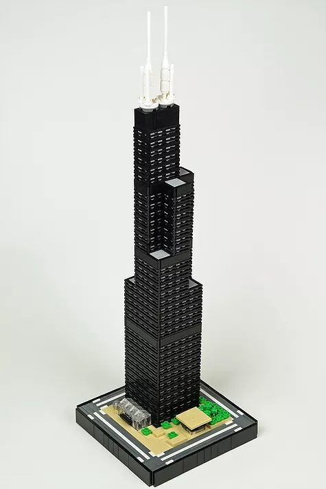 Willis Tower | ArchBrick | LEGO Architecture Blog