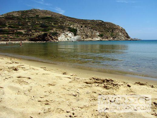 Kolitsani beach Ios, Greece