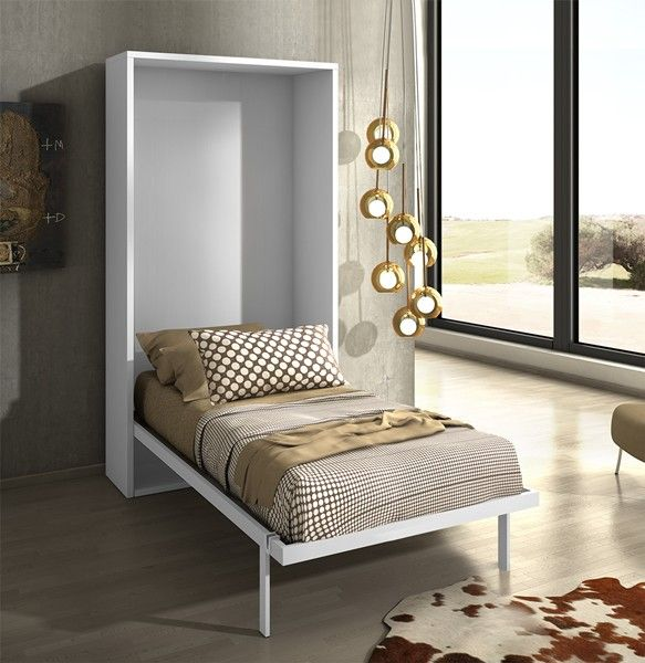 L'armoire-lit JOY de fabrication espagnole allie parfaitement l'élégance et la fonctionnalité.