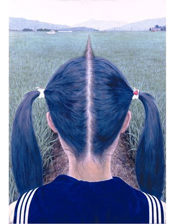 by Makoto Aida - This is how my pigtails were supposed to look like = straight as a road :0)