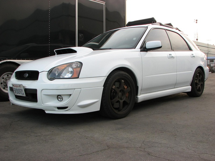 subaru wrx 2005 black. white w black rims wrx wagon blacked out lights as well subaru wrx 2005 k
