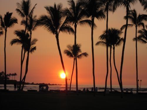 2回目のハワイ島旅行記 その3 (コーヒー農園巡り、ショップスアットマウナラニ、サンセット) (ハワイ島)