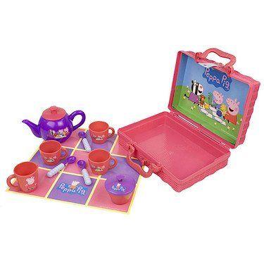 Peppa Pig's Tea Set in Hamper *** Visit the image link more details.