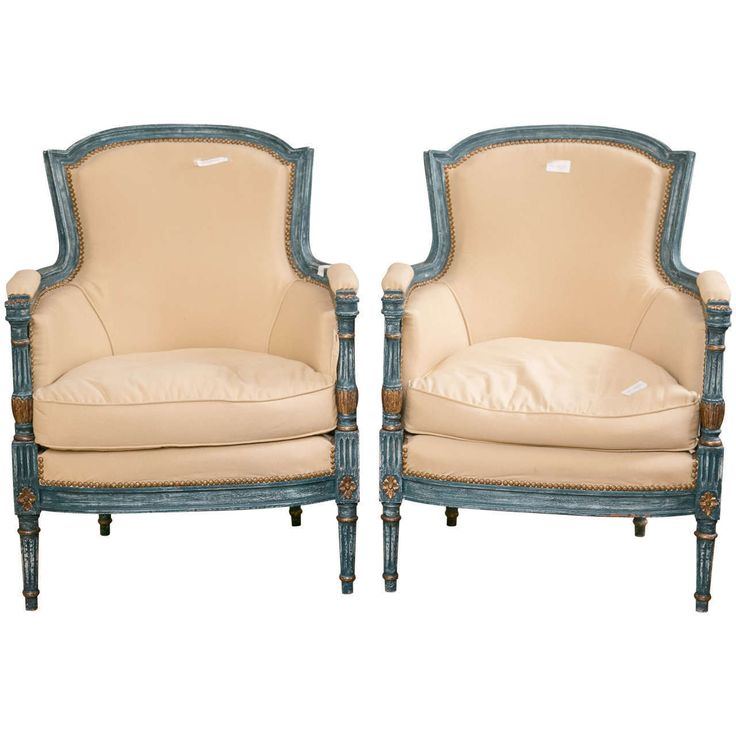 Pair of Louis XVI Style Chairs by Maison Jansen 102-3052 | eBay