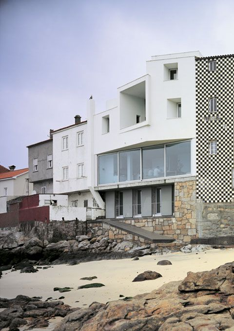 House in Corrubedo DAVID CHIPPERFIELD Corrubedo, Spain 1993