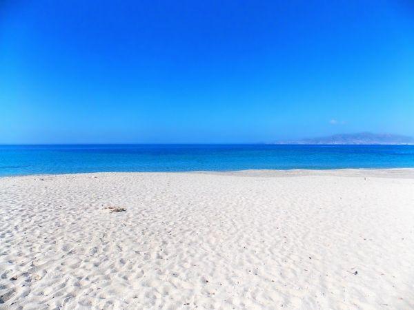 White sandy beach of Glyfada