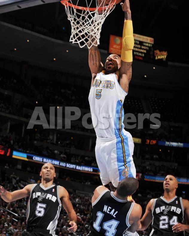 5058b5df8f44 San Antonio Spurs v Denver Nuggets  J.R. Smith