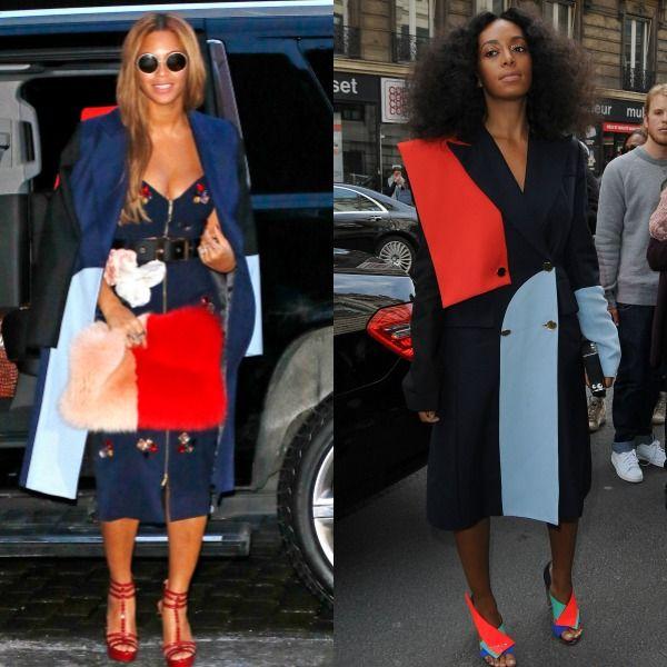 Τι μοιράστηκαν οι Beyoncé και Solange Knowles στις Εβδομάδες Μόδας;