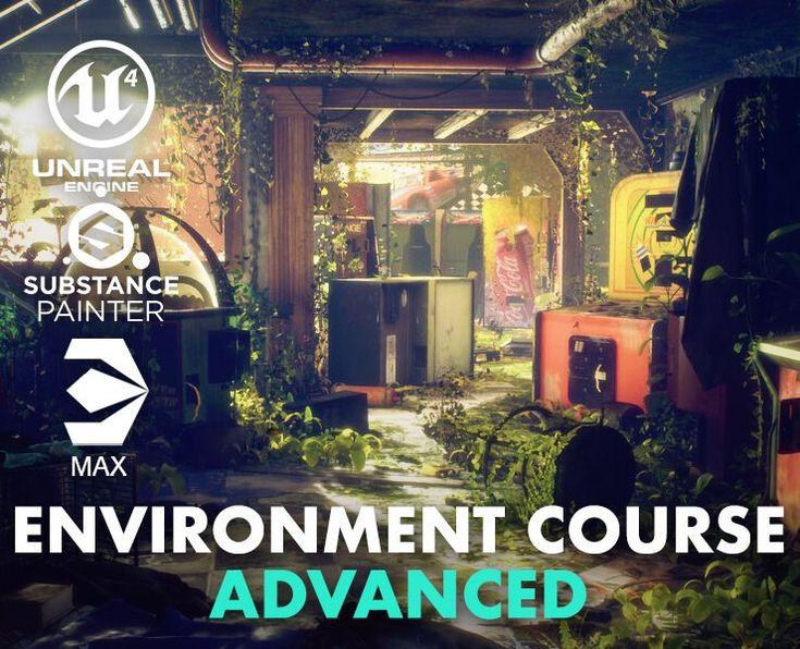 Advanced Environment Mastery Flippednormals In 2021 Tutorial Cg Artist Art Tutorials