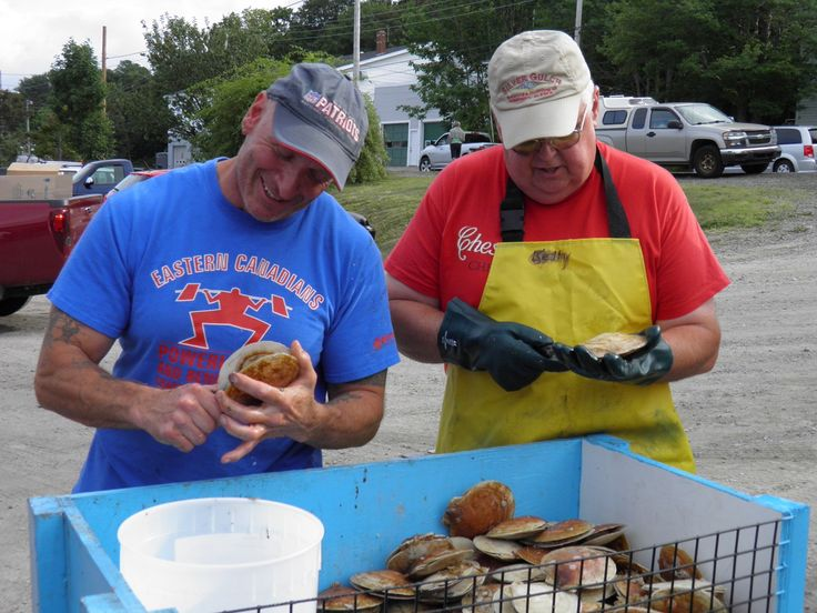 Digby Scallop Festival -- The REAL reason I want to go back. YUM. #WinWithDigbyPines
