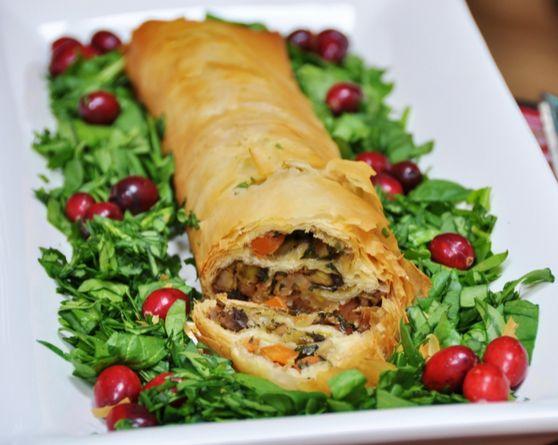 Rollo crujiente de verduras | #Receta de cocina | #Vegana - Vegetariana ecoagricultor.com