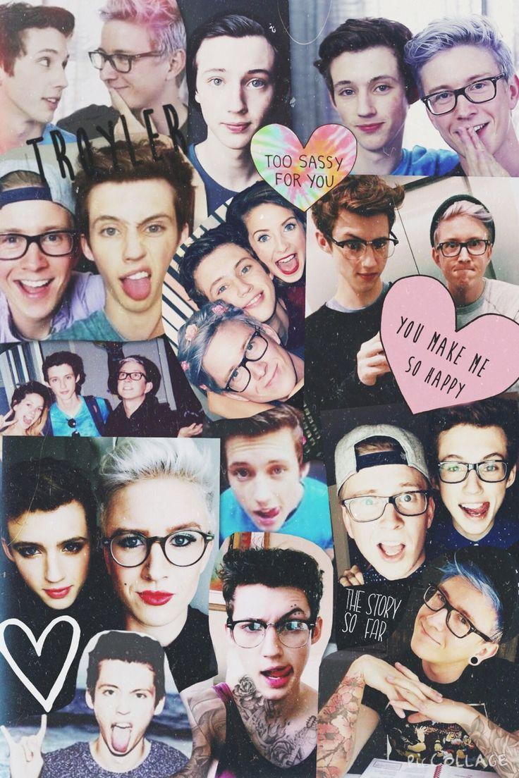 Troye x Tyler #Troyler collage wallpaper | YouTubers ...