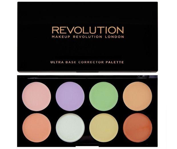 Makeup Revolution Ultra Base Corrector Palette, £6