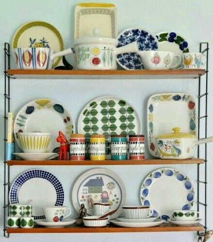 Rørstrand kitchen collection.