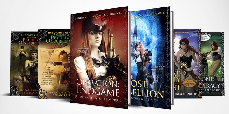 The final book of the Ministry of Peculiar Occurrences is about to drop books2read.com/operationendgame #steampunk