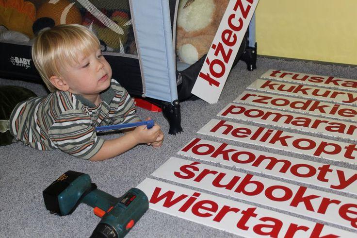 Oto #wyrazy, które interesują małego chłopca. MagWords sprawdza się znakomicie.