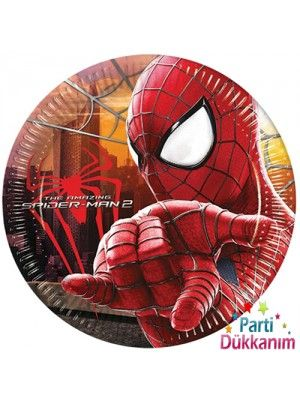 Spiderman Tabak (8 adet)