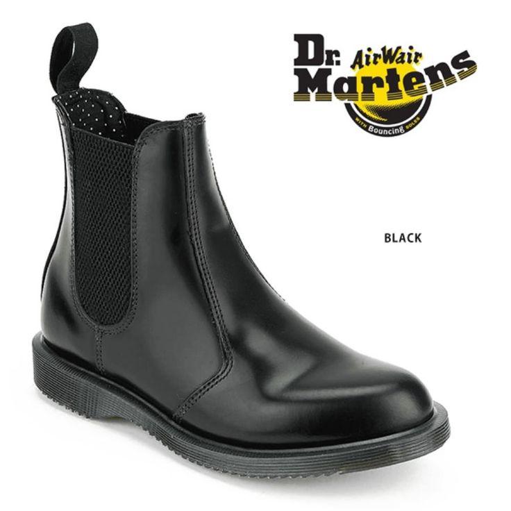 【jg】Dr.Martens ドクターマーチン サイドゴア レディース ショートブーツ 《 FLORA》定番モデルよりも細身デザイン普段にはもちろん レインブーツ としてや フェス などにも♪ サイドゴアブーツ レインシューズ 5