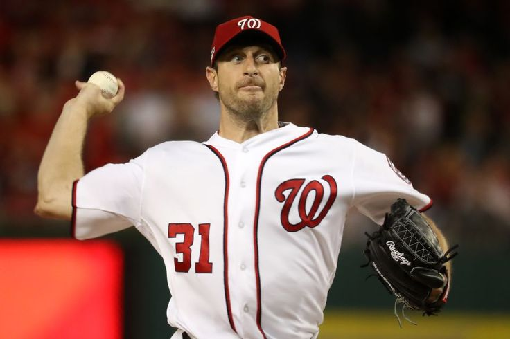 Top 25 fantasy baseball starting pitchers for 2017  -  March 14, 2017:       2. Max Scherzer, Washington Nationals:       Scherzer became the sixth pitcher in MLB history to win the Cy Young Award in both leagues last season. He led MLB in strikeouts (284) and WHIP (0.968) and led the NL in wins (20), innings pitched (228.1) and strikeout-to-walk ratio (5.07).    MORE...