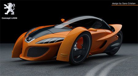Peugeot NOT the first on this theam. Concept went through in the 80s. Not that I don't love it.