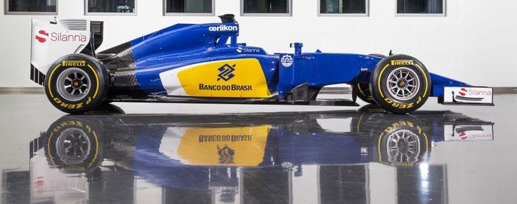 """Com chegada de Felipe Nasr, Sauber adota pintura """"brasileira"""" para 2015 #globoesporte"""