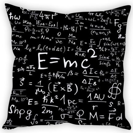 "#DiwaliDecor #FabFurnish One for the science of it. Cool cushion cover from fabfurnish ""Stybuzz Energy Formula Cushion Cover"""