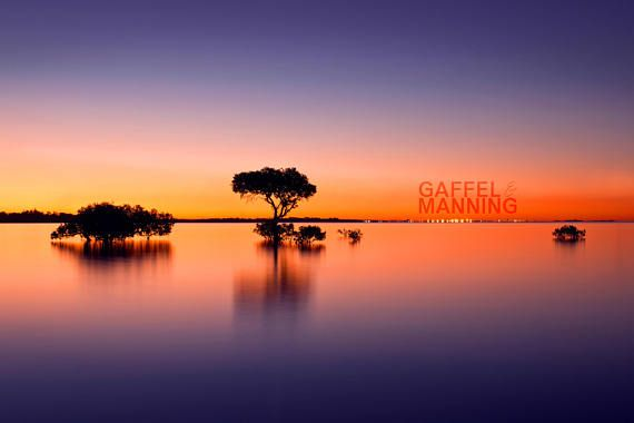 Landscape Photography // Sunset Fine Art Photography Wall