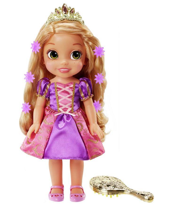 Buy Disney Princess Toddler Cinderella Doll At Argos Co Uk: Buy My First Disney Princess Magic Hair Glow Rapunzel At