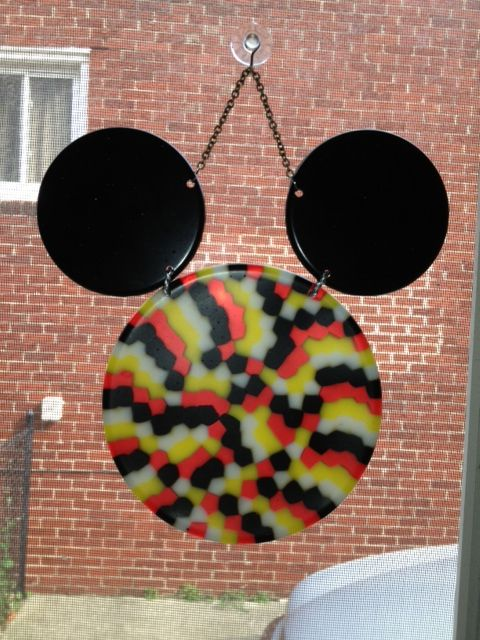 The Boutique is back up, and we're now featuring Mickey Head sun catchers!  Unique, and super cute!!  www.cindershellasboutique.com