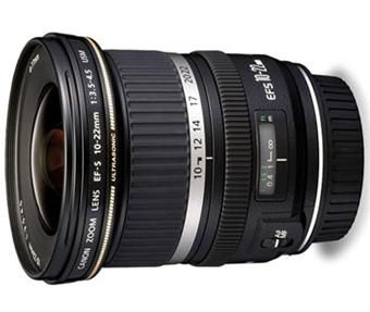 Objectif grand angle Canon (10-22mm). Mon futur bijou ??