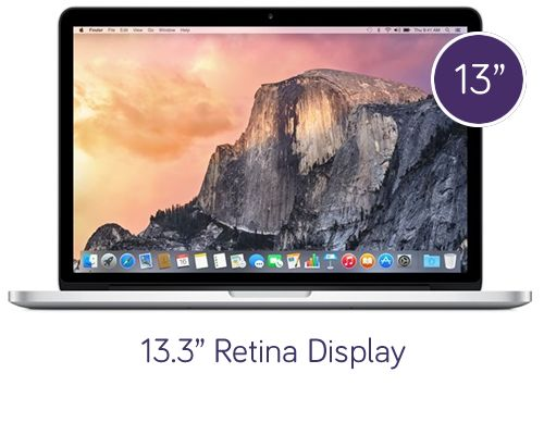 MacBook Pro with Retina Display – 13.3″, 512GB Storage