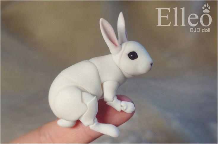 Bunny Bjd Doll 03 by leo3dmodels on DeviantArt