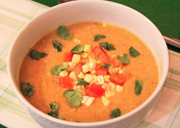 Creamy+and+Spicy+Corn+Soup