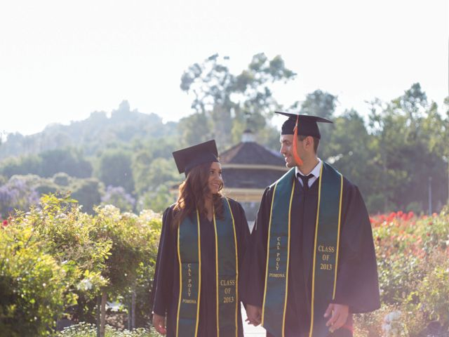 Cal Poly Pomona Couples Graduation Session