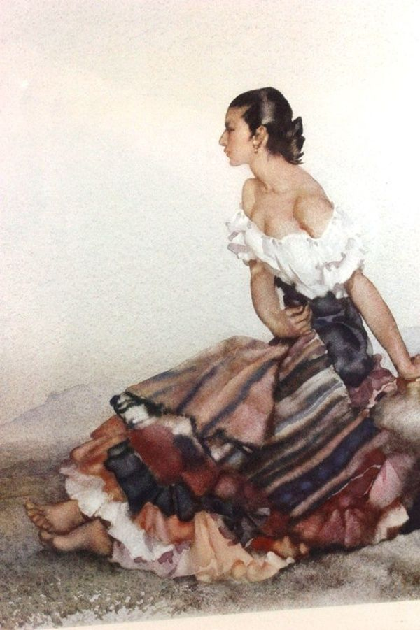 by Sir William Russell Flint (Scottish 1880-1969)