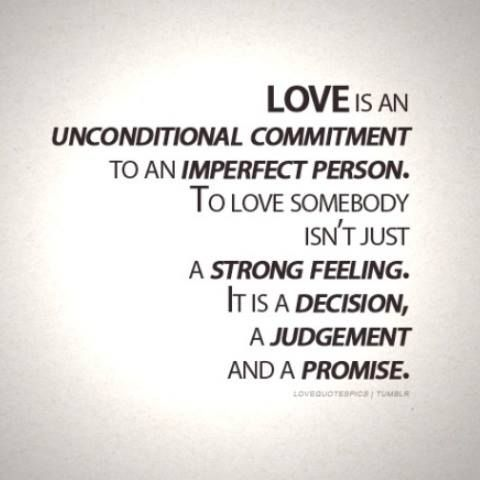 #Truth.  True love isn't about being inseparable; it's about two people being true to each other even when they are separated.