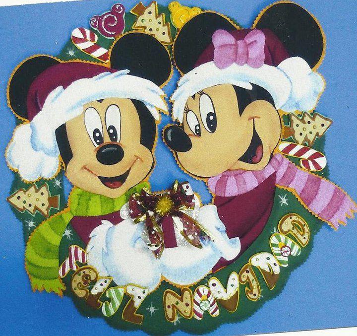 Corona Mickey - Minnie navideño | Trinidad1106