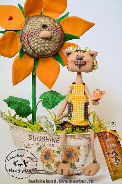 Ароматизированные куклы ручной работы. Ярмарка Мастеров - ручная работа Поцелованные солнышком. Handmade.