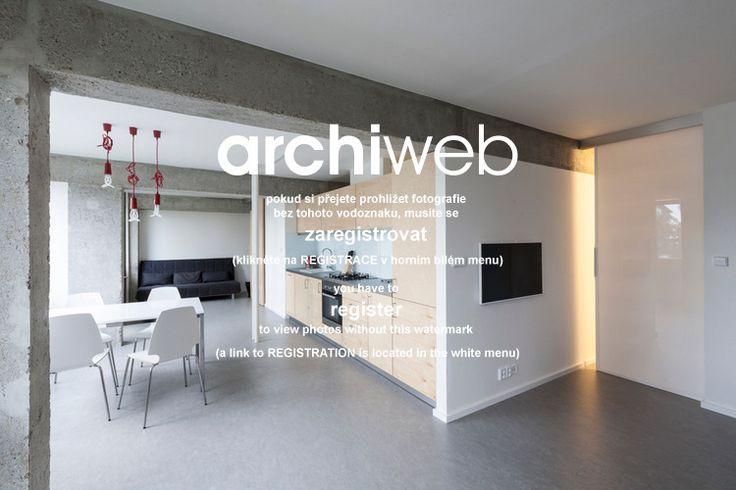 archiweb.cz - Rekonstrukce a interiér panelového bytu