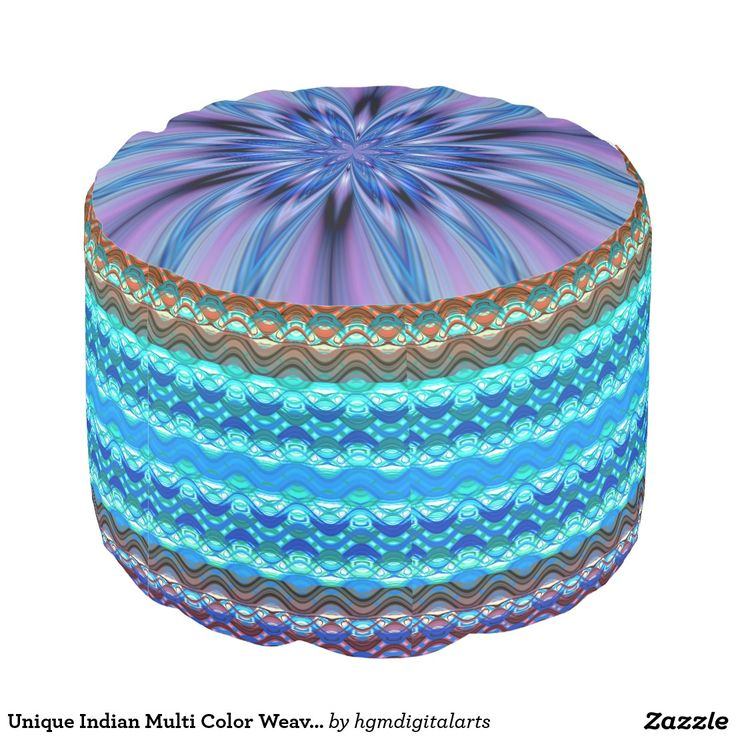 ... Unique Indian, Weave Design, Dogwood Trees, Design Round, Round Poufs
