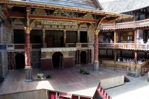 All the world's a stage - Shakespeare's Globe, London