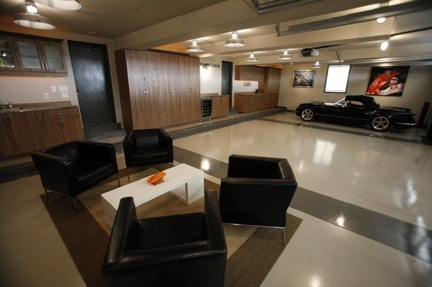 76 Best Garage Interiors Images On Pinterest
