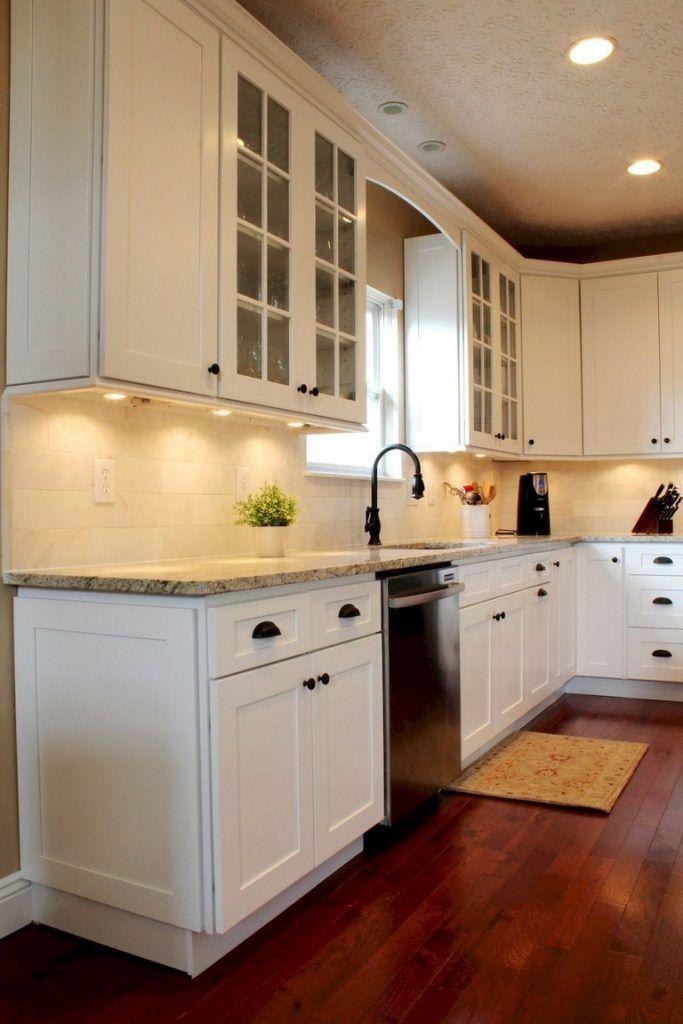 20+ Amazing White Shaker Cabinets Kitchen Ideas   Page 11 ...