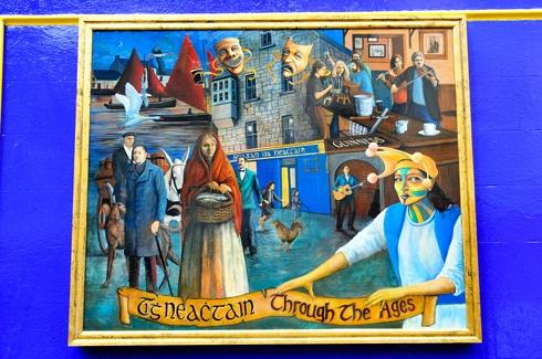 Tigh Neachtain Mural - Galway