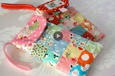 Tutorial patchwork porta cellulare
