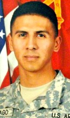 Army SPC. Trinidad Santiago Jr., 25, of San Diego, California. Died May 2, 2013, serving during Operation Enduring Freedom. Assigned to 4th Battalion, 42nd Field Artillery Regiment, 1st Brigade Combat Team, 4th Infantry Division, Fort Carson, Colorado. Died at Camp Buehring, Kuwait, of injuries sustained in a vehicle accident.