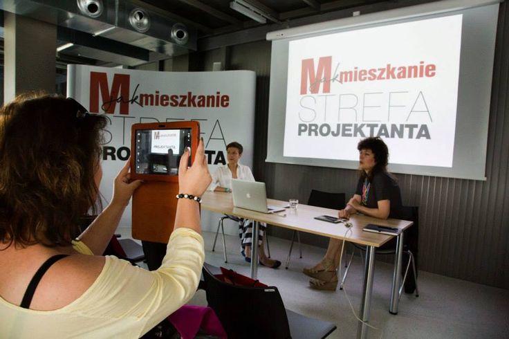 I was there! I have proof ;) #Gdynia Design Days - M jak Mieszkanie #goodatservice